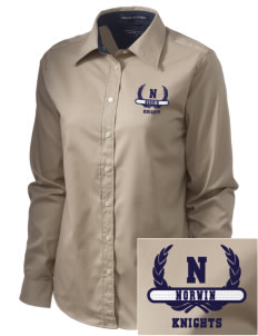 Norwin High School Knights  Embroidered Women's Pima Advantage Twill