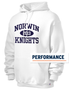 Norwin High School Knights Russell Men's Dri-Power Hooded Sweatshirt
