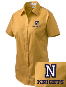 Norwin High School Knights Embroidered Women's Easy Care Short Sleeve Shirt