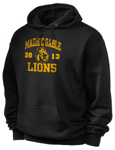 Mazie C Gable Elementary School Lions Holloway Men's 50/50 Hooded Sweatshirt