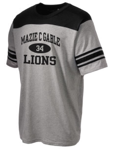 Mazie C Gable Elementary School Lions Holloway Men's Champ T-Shirt