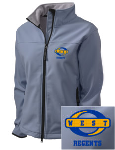 West High School Regents Embroidered Women's Glacier Soft Shell Jacket