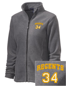 West High School Regents Embroidered Women's Wintercept Fleece Full-Zip Jacket