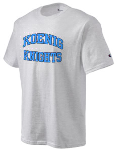 Koenig Elementary School Knights Champion Men's Tagless T-Shirt