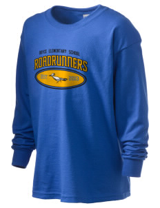 Royce Elementary School Roadrunners Kid's 6.1 oz Long Sleeve Ultra Cotton T-Shirt
