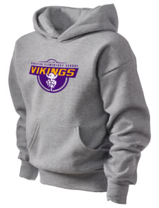 Burleigh Elementary School Vikings Kid's Hooded Sweatshirt