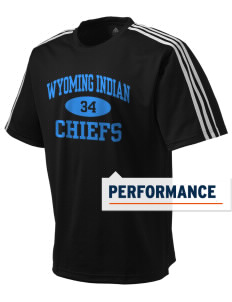 Wyoming Indian High School Chiefs adidas Men's ClimaLite T-Shirt