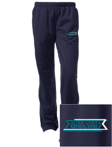 Alta Vista Elementary School Wolves Embroidered Women's Tricot Track Pants