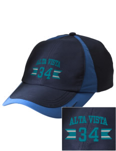Alta Vista Elementary School Wolves Embroidered Nike Golf Colorblock Cap