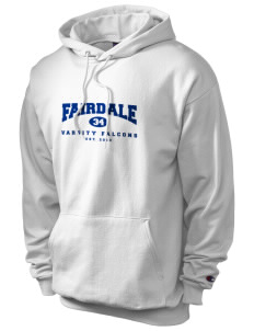 Fairdale Elementary School Falcons Champion Men's Hooded Sweatshirt