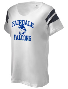 Fairdale Elementary School Falcons Holloway Women's Shout Bi-Color T-Shirt