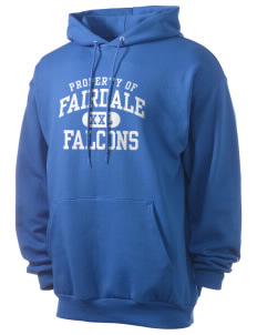 Fairdale Elementary School Falcons Men's 7.8 oz Lightweight Hooded Sweatshirt