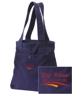 Big Horn Elementary School Rams Embroidered Alternative The Berkeley Tote