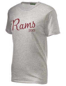 Big Horn Elementary School Rams Embroidered Alternative Unisex Eco Heather T-Shirt
