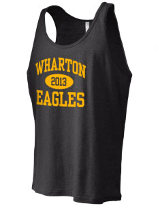 Wharton Elementary School Eagles Men's Jersey Tank