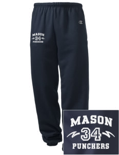 Mason High School Punchers Embroidered Champion Men's Sweatpants