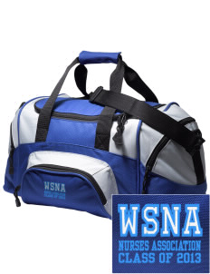 Washington State Nurses Association Embroidered Small Colorblock Duffel