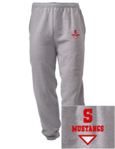 Sweetwater Intermediate School Mustangs Embroidered Men's Sweatpants with Pockets