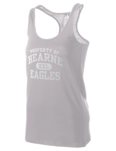 Hearne High School Eagles Women's Racerback Tank