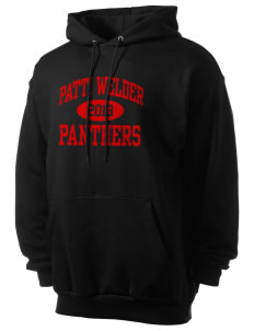 Patti Welder Middle School Panthers Men's 7.8 oz Lightweight Hooded Sweatshirt
