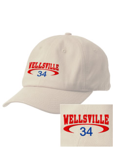 Wellsville Elementary School Warriors Embroidered Champion 6-Panel Cap