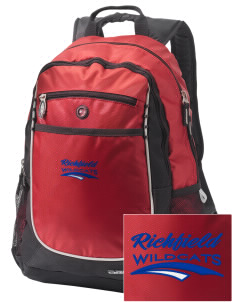 Richfield High School Wildcats Embroidered OGIO Carbon Backpack