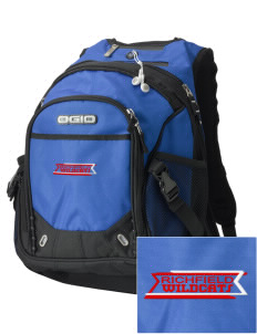 Richfield High School Wildcats Embroidered OGIO Fugitive Backpack