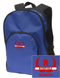 Richfield High School Wildcats Embroidered Value Backpack
