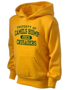 Camels Hump Middle School Crusaders Kid's Hooded Sweatshirt