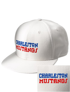 Charleston Elementary School Mustangs  Embroidered New Era Flat Bill Snapback Cap