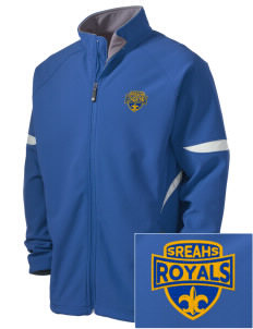 South Royalton Elementary And High Royals Holloway Embroidered Men's Radius Zip Front Jacket