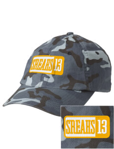 South Royalton Elementary And High Royals Embroidered Camouflage Cotton Cap