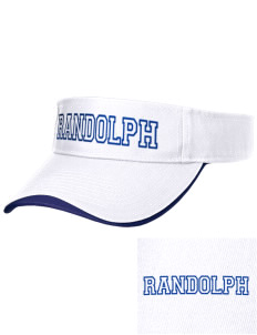 Randolph Elementary School Stars Embroidered Binding Visor