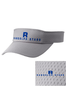 Randolph Elementary School Stars Embroidered Woven Cotton Visor