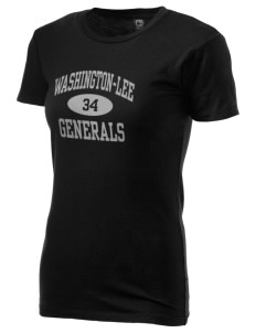 Washington-Lee High School Generals Alternative Women's Basic Crew T-Shirt