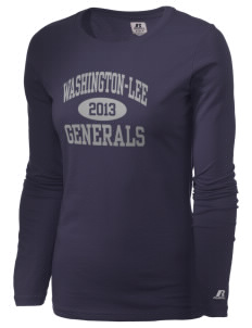 Washington-Lee High School Generals  Russell Women's Long Sleeve Campus T-Shirt