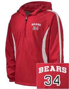 Union Mill Elementary School Bears Embroidered Men's Colorblock Raglan Anorak