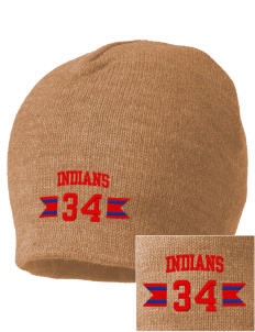 Gilbert Linkous Elementary School Indians Embroidered Beanie