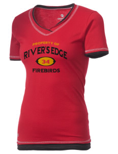 River's Edge High School Firebirds Holloway Women's Dream T-Shirt