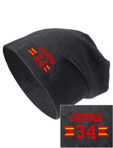 River's Edge High School Firebirds Embroidered Slouch Beanie
