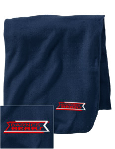 Barnes Elementary School Bears Embroidered Holloway Stadium Fleece Blanket