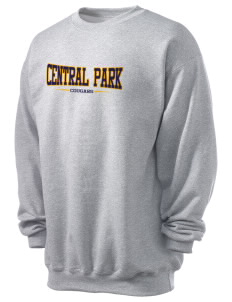 Central Park Elementary School Cougars Men's 7.8 oz Lightweight Crewneck Sweatshirt