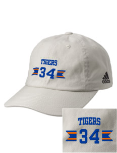 Medina Elementary School Tigers Embroidered adidas Relaxed Cresting Cap
