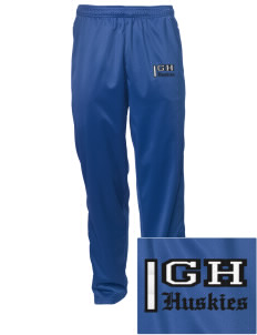 Gregory Heights Elementary School Huskies Embroidered Men's Tricot Track Pants
