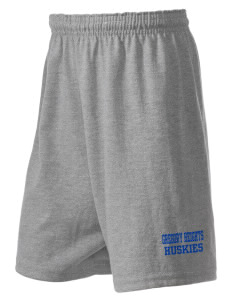 Gregory Heights Elementary School Huskies  Russell Kid's Cotton Short
