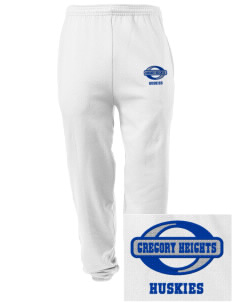Gregory Heights Elementary School Huskies Embroidered Men's Sweatpants with Pockets