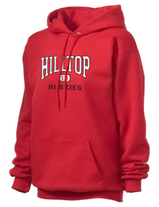 Hilltop Elementary School Huskies Unisex Hooded Sweatshirt