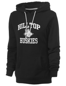 Hilltop Elementary School Huskies Women's Core Fleece Hooded Sweatshirt