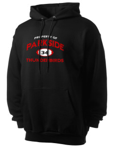 Parkside Elementary School Thunderbirds Men's 7.8 oz Lightweight Hooded Sweatshirt