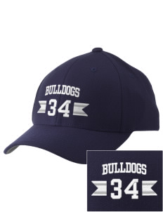 Southern Heights Elementary School Bulldogs Embroidered Pro Model Fitted Cap